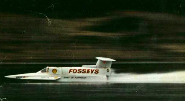 Ken Warby water speed record 1978