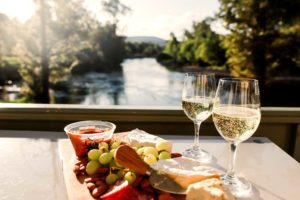 Relax with that view of the Tumut river